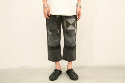<img class='new_mark_img1' src='https://img.shop-pro.jp/img/new/icons47.gif' style='border:none;display:inline;margin:0px;padding:0px;width:auto;' />Children of the discordance / OLD PATCH DENIM PANTS(BLACK)