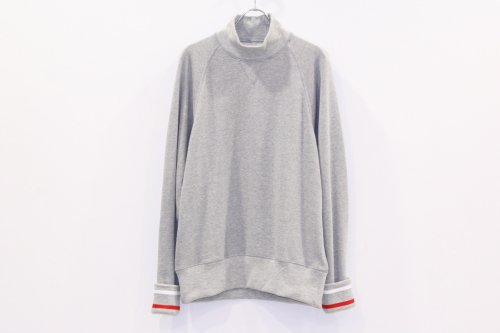 <img class='new_mark_img1' src='https://img.shop-pro.jp/img/new/icons47.gif' style='border:none;display:inline;margin:0px;padding:0px;width:auto;' />NON TOKYO / LINE RIB SWEAT(GRAY)