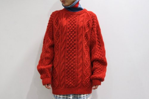 <img class='new_mark_img1' src='https://img.shop-pro.jp/img/new/icons47.gif' style='border:none;display:inline;margin:0px;padding:0px;width:auto;' />NON TOKYO / HAND DYEING RIB KNIT(RED)