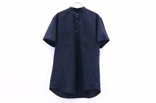 <img class='new_mark_img1' src='https://img.shop-pro.jp/img/new/icons47.gif' style='border:none;display:inline;margin:0px;padding:0px;width:auto;' />Natsumi Zama /Herdmans Linen Men's Shirt(NAVY)