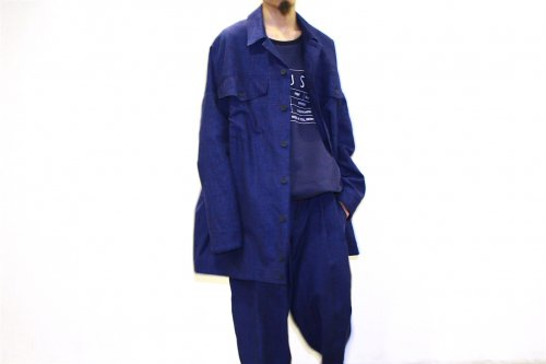 <img class='new_mark_img1' src='https://img.shop-pro.jp/img/new/icons47.gif' style='border:none;display:inline;margin:0px;padding:0px;width:auto;' />house of the very island's... / DENIM JACKET COAT(DARK BLUE)