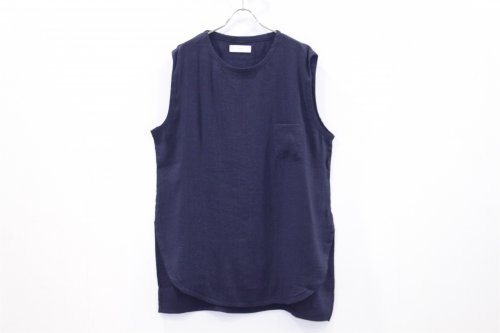 <img class='new_mark_img1' src='https://img.shop-pro.jp/img/new/icons47.gif' style='border:none;display:inline;margin:0px;padding:0px;width:auto;' />THEE / LINEN LONG N/S TEE(NAVY)