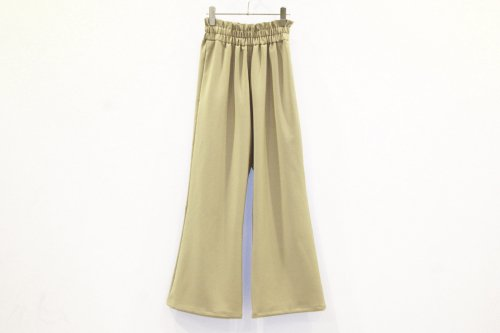 <img class='new_mark_img1' src='https://img.shop-pro.jp/img/new/icons47.gif' style='border:none;display:inline;margin:0px;padding:0px;width:auto;' />Natsumi Zama / BELL-BOTTOMS TROUSERS(BEIGE)