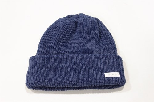 <img class='new_mark_img1' src='https://img.shop-pro.jp/img/new/icons47.gif' style='border:none;display:inline;margin:0px;padding:0px;width:auto;' />cobachi / watch cap(NAVY BLUE)
