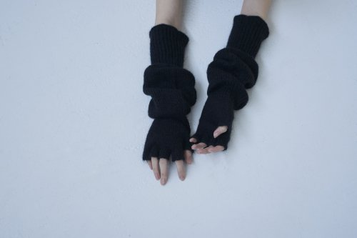 <img class='new_mark_img1' src='https://img.shop-pro.jp/img/new/icons47.gif' style='border:none;display:inline;margin:0px;padding:0px;width:auto;' />TAN / FINGERLESS GLOVES(BLACK)