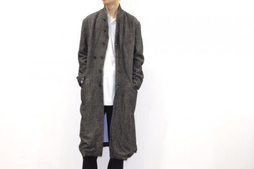 <img class='new_mark_img1' src='https://img.shop-pro.jp/img/new/icons47.gif' style='border:none;display:inline;margin:0px;padding:0px;width:auto;' />THEE / chester coat.(BLACK)