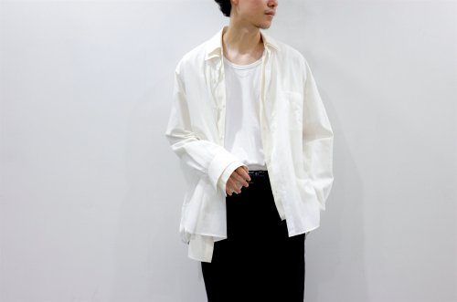 <img class='new_mark_img1' src='https://img.shop-pro.jp/img/new/icons47.gif' style='border:none;display:inline;margin:0px;padding:0px;width:auto;' />stein / OVERSIZED LAYERED GAUZE SHIRT(OFF)