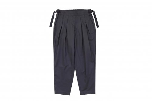 <img class='new_mark_img1' src='https://img.shop-pro.jp/img/new/icons47.gif' style='border:none;display:inline;margin:0px;padding:0px;width:auto;' />SAYATOMO /Karusan Twill Pants(BLACK)