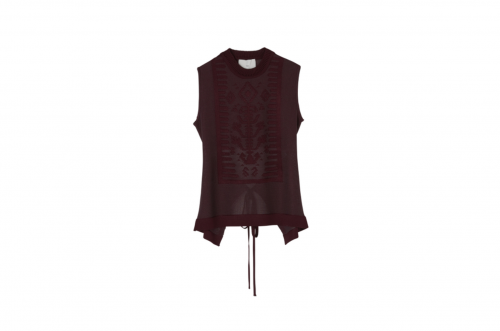 <img class='new_mark_img1' src='https://img.shop-pro.jp/img/new/icons47.gif' style='border:none;display:inline;margin:0px;padding:0px;width:auto;' />TAN / GLOSSY SAILOR TANK(BURGUNDY)