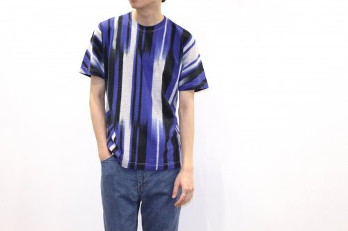 <img class='new_mark_img1' src='https://img.shop-pro.jp/img/new/icons47.gif' style='border:none;display:inline;margin:0px;padding:0px;width:auto;' />ATELIER BÉTON / MULTI COLOR TEE(BLUE×BLACK)