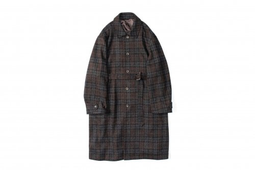 <img class='new_mark_img1' src='https://img.shop-pro.jp/img/new/icons47.gif' style='border:none;display:inline;margin:0px;padding:0px;width:auto;' />stein / OVER SLEEVE INVESTIGATED COAT(SHADOW CHECK)