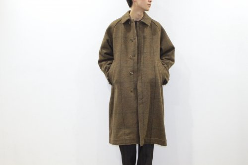 <img class='new_mark_img1' src='https://img.shop-pro.jp/img/new/icons47.gif' style='border:none;display:inline;margin:0px;padding:0px;width:auto;' />YOKE / REVERSIBLE KNIT BAL COLLAR COAT(BROWN)