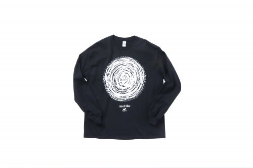 <img class='new_mark_img1' src='https://img.shop-pro.jp/img/new/icons2.gif' style='border:none;display:inline;margin:0px;padding:0px;width:auto;' />smell(s)like / CIRCLE long sleeve T-shirts designed by tsutomu moriya(BLACK)