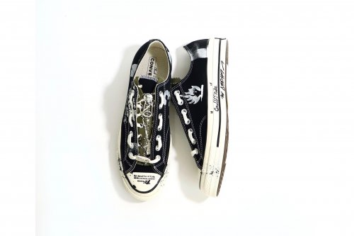 <img class='new_mark_img1' src='https://img.shop-pro.jp/img/new/icons47.gif' style='border:none;display:inline;margin:0px;padding:0px;width:auto;' />smell(s)like / one off custom sneakers for ATTEMPT(BLACK・27.5�)