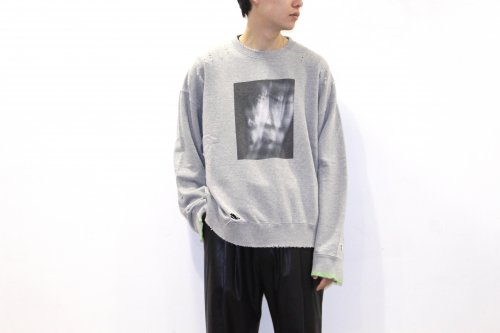 <img class='new_mark_img1' src='https://img.shop-pro.jp/img/new/icons47.gif' style='border:none;display:inline;margin:0px;padding:0px;width:auto;' />stein / OVERSIZED REBUILD SWEAT LS(GREY)