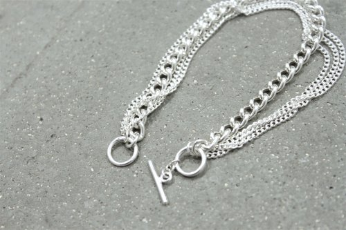 <img class='new_mark_img1' src='https://img.shop-pro.jp/img/new/icons2.gif' style='border:none;display:inline;margin:0px;padding:0px;width:auto;' />THEE / Chain Bracelet.typeA(SILVER)