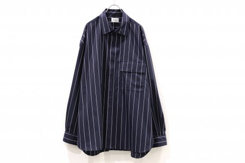 <img class='new_mark_img1' src='https://img.shop-pro.jp/img/new/icons47.gif' style='border:none;display:inline;margin:0px;padding:0px;width:auto;' />no. / FRONT FLY SHIRT(NAVY)