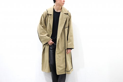 <img class='new_mark_img1' src='https://img.shop-pro.jp/img/new/icons47.gif' style='border:none;display:inline;margin:0px;padding:0px;width:auto;' />VOAAOV / OVERSIZE REVERSIBLE COAT(BEIGE)