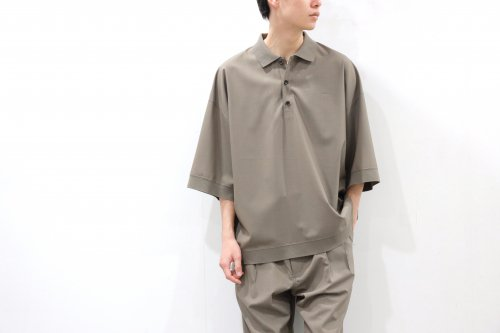 <img class='new_mark_img1' src='https://img.shop-pro.jp/img/new/icons2.gif' style='border:none;display:inline;margin:0px;padding:0px;width:auto;' />VOAAOV / OVERSIZED WASHABLE WOOL POLO(BEIGE)