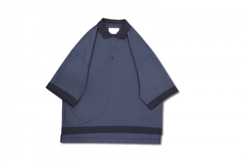 <img class='new_mark_img1' src='https://img.shop-pro.jp/img/new/icons2.gif' style='border:none;display:inline;margin:0px;padding:0px;width:auto;' />VOAAOV / OVERSIZED WASHABLE WOOL POLO(NAVY)