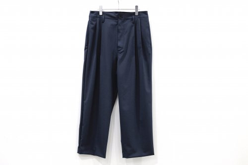 <img class='new_mark_img1' src='https://img.shop-pro.jp/img/new/icons2.gif' style='border:none;display:inline;margin:0px;padding:0px;width:auto;' />VOAAOV / TWO TUCK WIDE TROUSERS(NAVY)