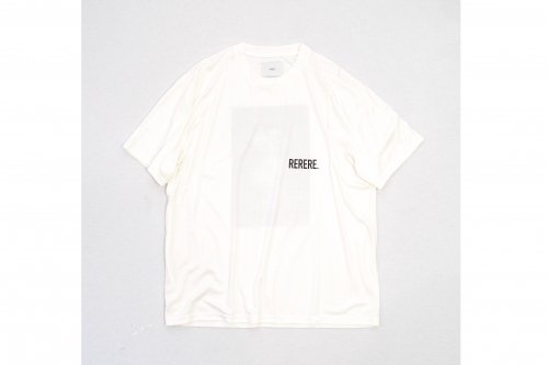 <img class='new_mark_img1' src='https://img.shop-pro.jp/img/new/icons47.gif' style='border:none;display:inline;margin:0px;padding:0px;width:auto;' />stein / PRINT TEE - RE LOOP -(WHITE)