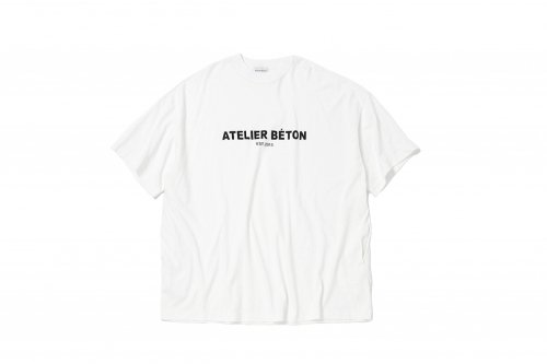 <img class='new_mark_img1' src='https://img.shop-pro.jp/img/new/icons2.gif' style='border:none;display:inline;margin:0px;padding:0px;width:auto;' />ATELIER BETON / PRINTED BIG T-SHIRT(WHITE)