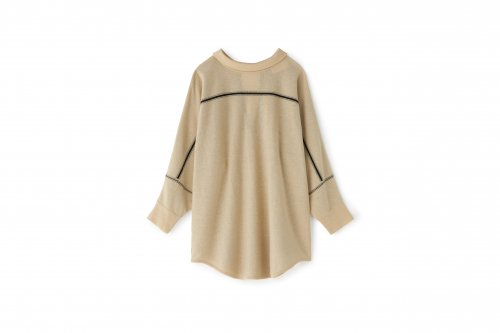 <img class='new_mark_img1' src='https://img.shop-pro.jp/img/new/icons2.gif' style='border:none;display:inline;margin:0px;padding:0px;width:auto;' />TAN / CHECKED & LINE BLOUSE(CREAM)