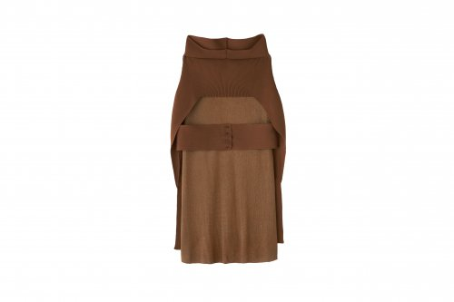 <img class='new_mark_img1' src='https://img.shop-pro.jp/img/new/icons47.gif' style='border:none;display:inline;margin:0px;padding:0px;width:auto;' />TAN / LAYERED SKIRT(BROWN)