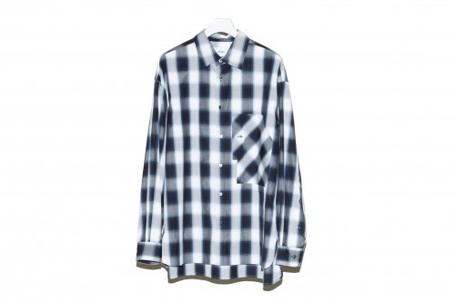 <img class='new_mark_img1' src='https://img.shop-pro.jp/img/new/icons47.gif' style='border:none;display:inline;margin:0px;padding:0px;width:auto;' />no. / VERTICAL POCKET SHIRT(NAVY CHECK)