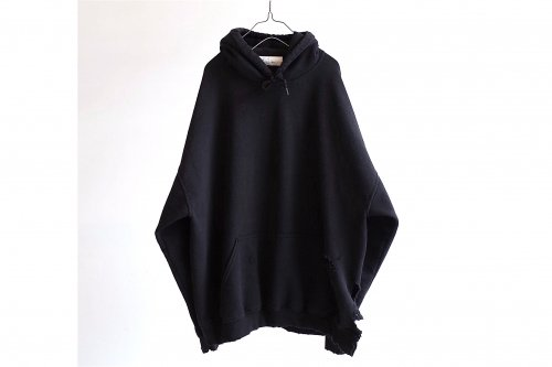 <img class='new_mark_img1' src='https://img.shop-pro.jp/img/new/icons47.gif' style='border:none;display:inline;margin:0px;padding:0px;width:auto;' />ANCELLM / CRASH HOODIE(BLACK)
