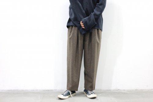<img class='new_mark_img1' src='https://img.shop-pro.jp/img/new/icons47.gif' style='border:none;display:inline;margin:0px;padding:0px;width:auto;' />SAYATOMO /Karusan Nodoka Flannel Pants(BEIGE)