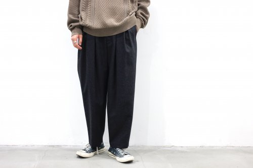 <img class='new_mark_img1' src='https://img.shop-pro.jp/img/new/icons2.gif' style='border:none;display:inline;margin:0px;padding:0px;width:auto;' />SAYATOMO /Karusan Nodoka Flannel Pants(BLACK)