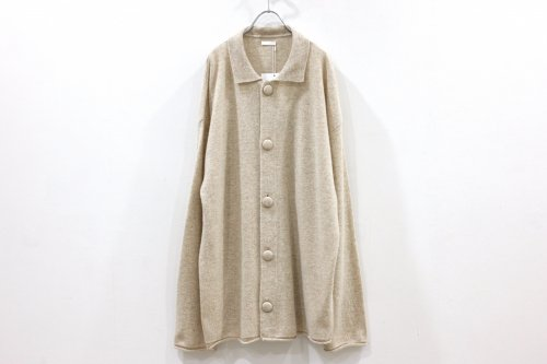 <img class='new_mark_img1' src='https://img.shop-pro.jp/img/new/icons47.gif' style='border:none;display:inline;margin:0px;padding:0px;width:auto;' />Blanc YM / Wool Cashmere Knit JKT(BEIGE)