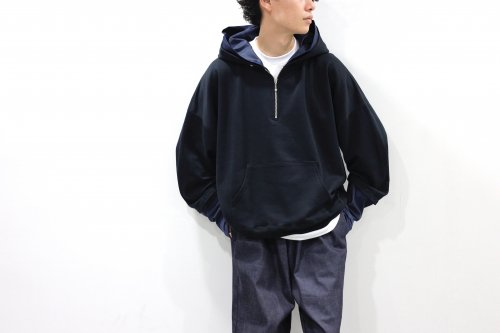 <img class='new_mark_img1' src='https://img.shop-pro.jp/img/new/icons2.gif' style='border:none;display:inline;margin:0px;padding:0px;width:auto;' />no. / LAYERED SWEAT HOODY(BLACK)