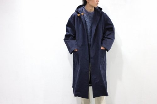 <img class='new_mark_img1' src='https://img.shop-pro.jp/img/new/icons2.gif' style='border:none;display:inline;margin:0px;padding:0px;width:auto;' />a-l /OVERSIZED HOOD COAT(NAVY)