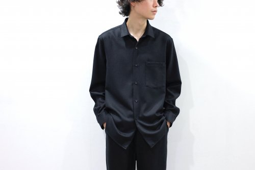 <img class='new_mark_img1' src='https://img.shop-pro.jp/img/new/icons2.gif' style='border:none;display:inline;margin:0px;padding:0px;width:auto;' />THEE / standard shirt(BLACK)