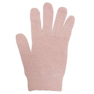 絹糸屋さんの『なんだか、ほっこり。』ふんわりシルク手袋|〜つむぎシルク・絹紬糸〜|ピンク