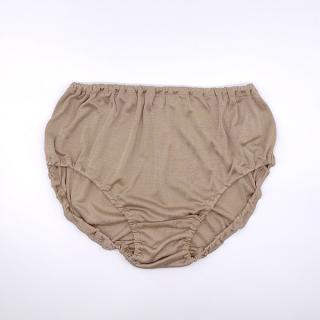 絹糸屋さんの『シルクショーツの完成形。』すっぽりシルクショーツ|Lサイズ|〜極細番手けんぼうシルク・絹紡糸〜|モカベージュ