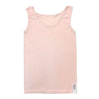 【新色♪】絹糸屋さんの『一軍、レギュラー。』シルクタンクトップ|〜極細番手けんぼうシルク・絹紡糸〜|ピンク
