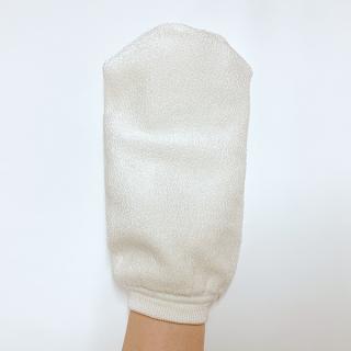 絹糸屋さんの『絹のやさしさ、感じて。』スキンケアミトン手袋(大)|〜けんぼうシルク・絹紡糸〜