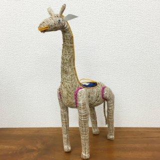 お部屋の癒し 香りの木 アカールワンギ キリンの人形 バリ島 ハンドメイド #5
