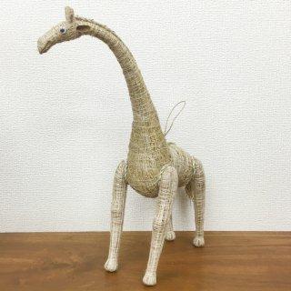 お部屋の癒し 香りの木 アカールワンギ キリンの人形 バリ島 ハンドメイド #6