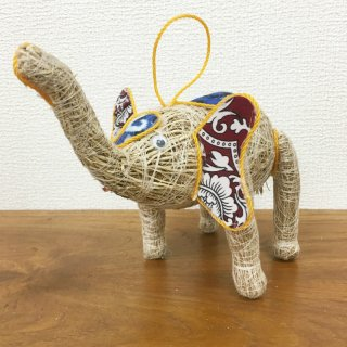 お部屋の癒し 香りの木 アカールワンギ 象の人形(小) バリ島 ハンドメイド #7