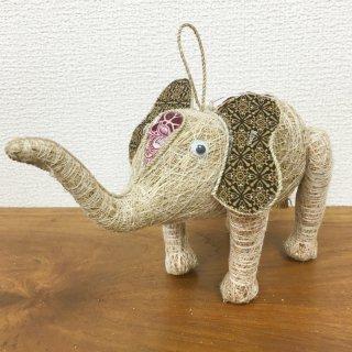 お部屋の癒し 香りの木 アカールワンギ 象の人形(小) バリ島 ハンドメイド #8
