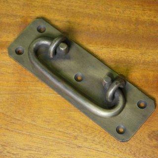 アンティーク調 ブラス 可変取っ手ハンドル 真鍮製 中