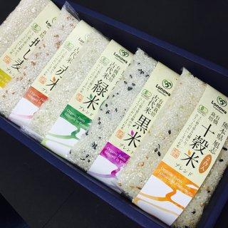 有機雑穀米セット(2合×5種)