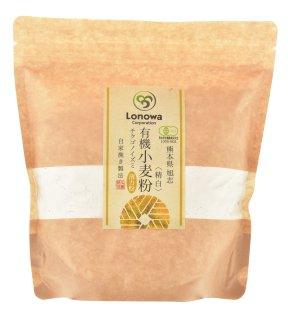 有機 小麦粉(薄力粉:チクゴイズミ) 精白