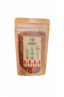 有機 赤米