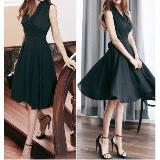 上品style王道のカシュクールのナイトドレス